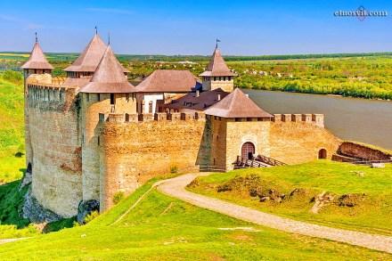 Хотинська фортеця | Чернівецька область