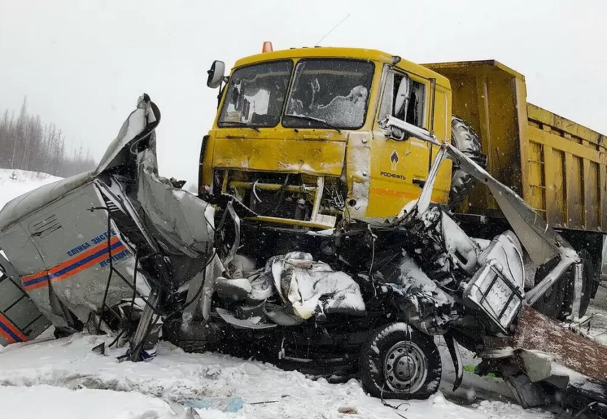 В Нефтеюганском районе в ДТП погибло четыре человека
