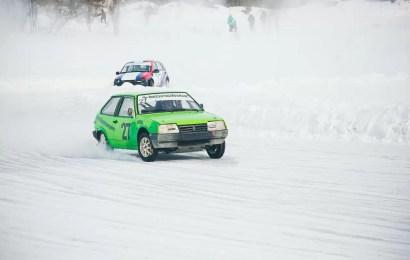 Первенство Нефтеюганска по ледовым гонкам. Итоги