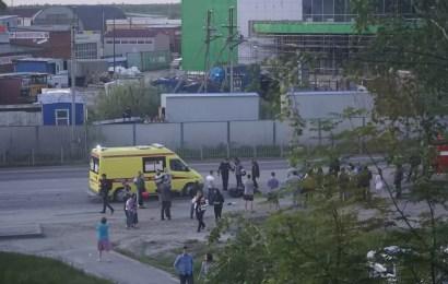 В Нефтеюганске на Объездной сбили мотоциклиста
