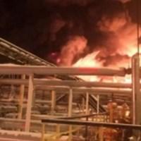 """На Приобском месторождении """"Роснефти"""" произошел крупный пожар"""