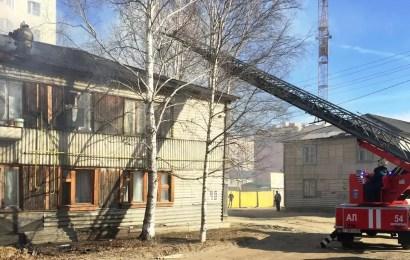 Власти Нефтеюганска помогут с расселением жильцам, сгоревшего двухэтажного жилого дома в 5 микрорайоне города.