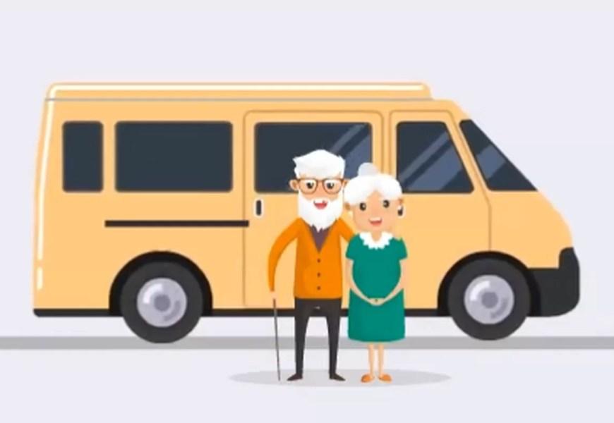 Югра получила 9 машин для перевозки пожилых и инвалидов на медобследования