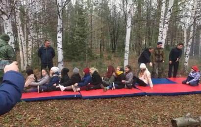 Нефтеюганцы стали участниками окружного военного слёта «Российское движение школьников»