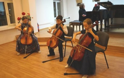 В школе имени В.В.Андреева состоялся концерт «Музыка народов мира»