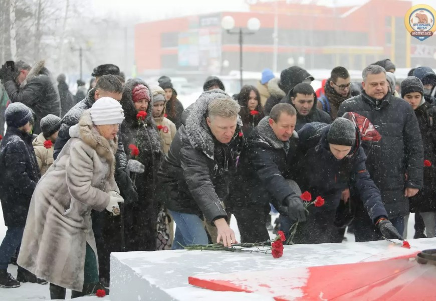 """В Нефтеюганске начался """"Год памяти и славы"""""""
