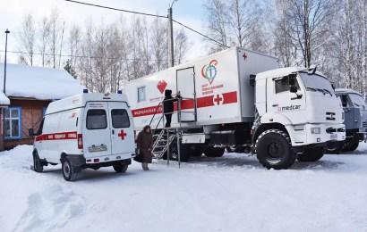 В ХМАО мобильные диагностические комплексы Центра профпатологии отправились в путь.