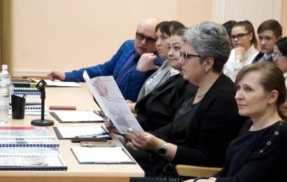 В Нефтеюганске состоялся городской конкурс проектов «Профессиональный калейдоскоп».