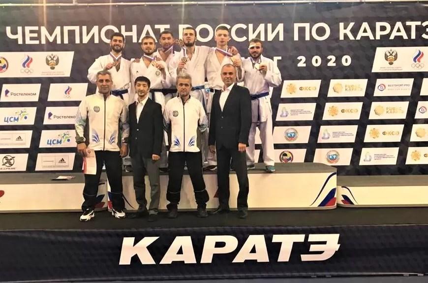 Югорские каратисты стали чемпионами России