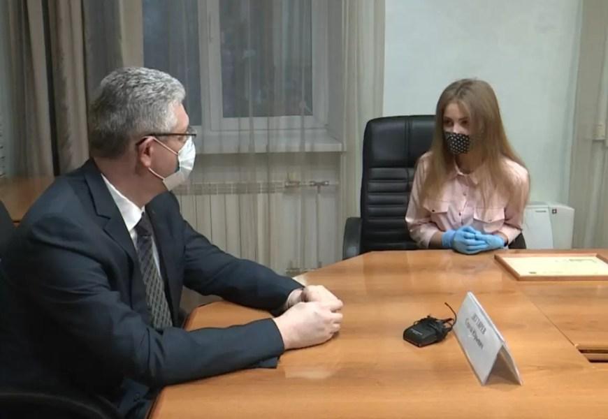 Курс на учебу и саморазвитие. Школьница Нефтеюганска стала победителем Всероссийского конкурса «Большая перемена».