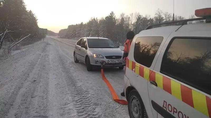 Спешат на помощь. Кто спасает автомобилистов на загородных трассах Югры