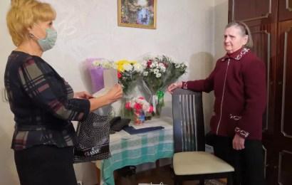 Поздравляем с 95-летним юбилеем ветерана Великой Отечественной войны