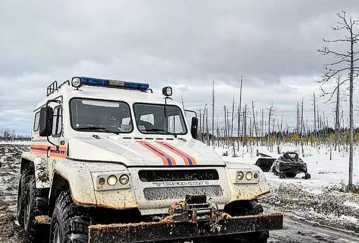 Спасатели Югры эвакуировали шестерых замерзающих автомобилистов