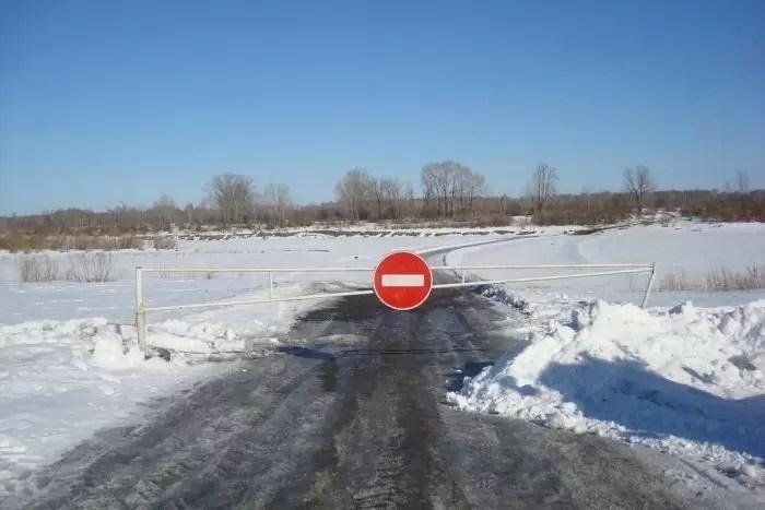 Слишком тепло: в ХМАО закрывают ледовые переправы