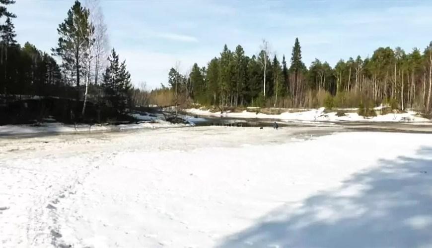 Лёд на югорских реках теряет прочность