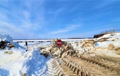 В Югре закрыли почти все зимники и ледовые переправы