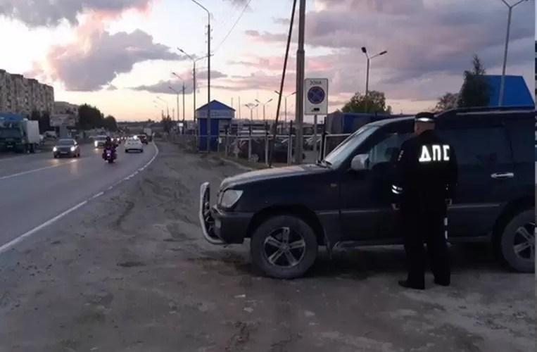За неделю в Югре задержали более 100 пьяных водителей