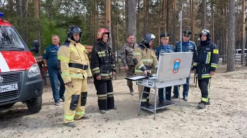 Волонтёры из Югры поедут тушить лесные пожары в Тюменскую область