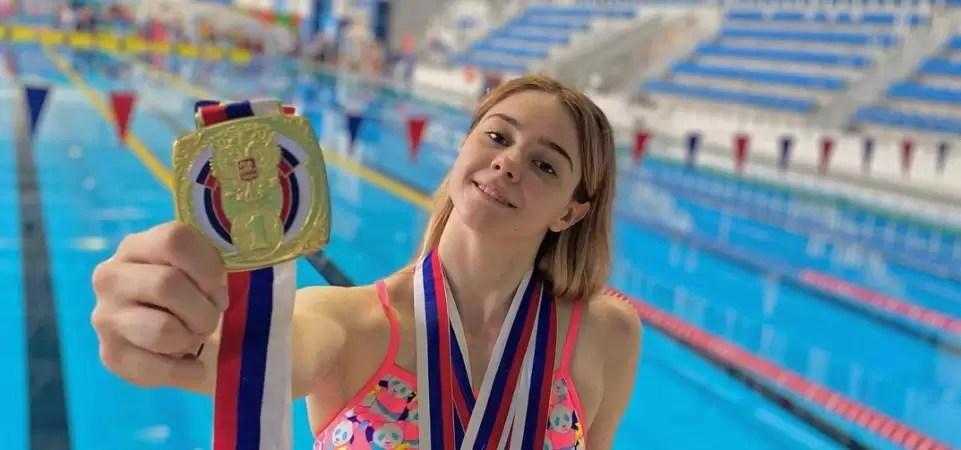 Сургутская пловчиха Анастасия Гонтарь завоевала ЗОЛОТО Паралимпийских игр!