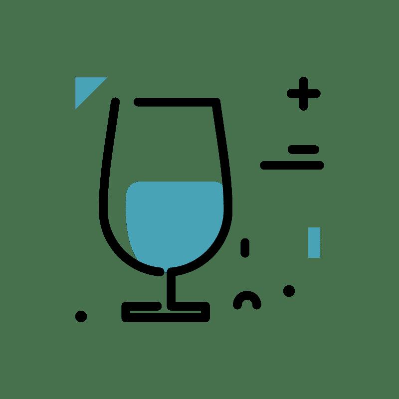 pictogramme verre