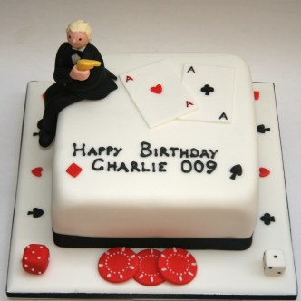 Casino Royale Cake
