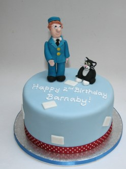 Postman Pat and Jess Cake
