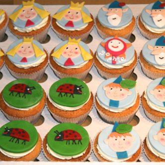 Ben & Holly Cupcakes