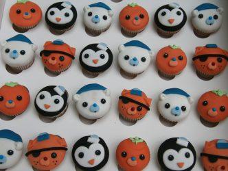 Mini Octonauts Cupcakes