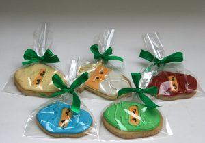 Ninjago bespoke cookies