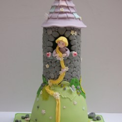 Rapunzel in Her Tower
