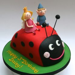 Ben and Holly and Gaston Cake