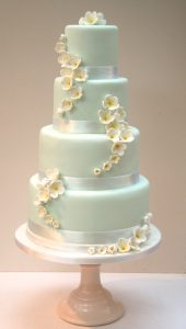 Tiffany's Frangipani Cake
