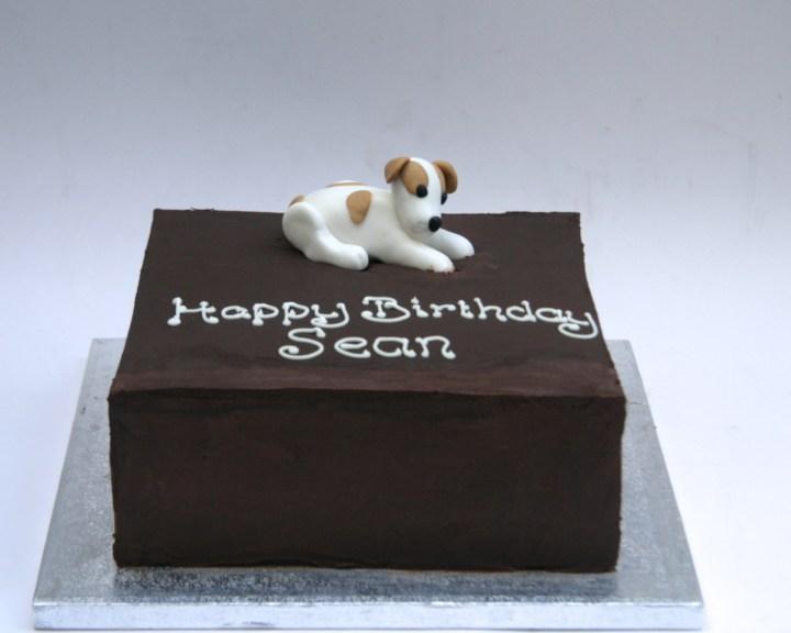 Doggie Ganache Cake