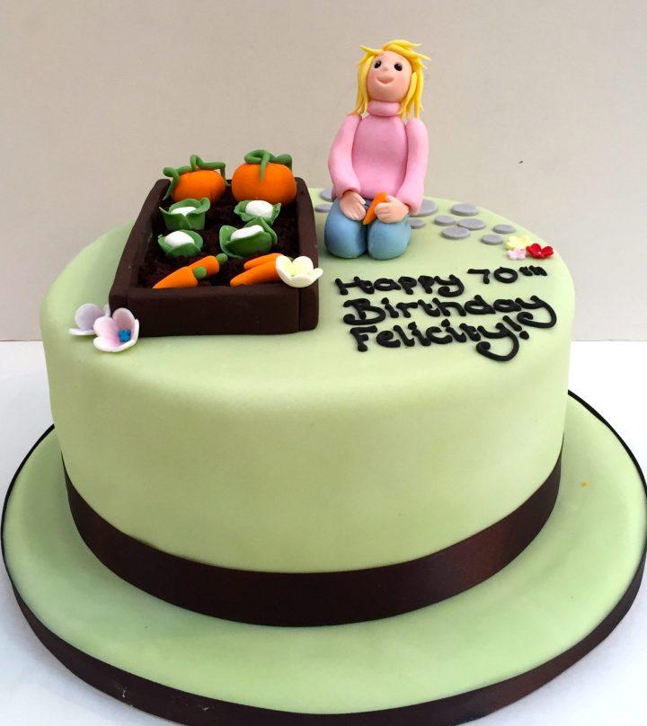 Gardending Cake