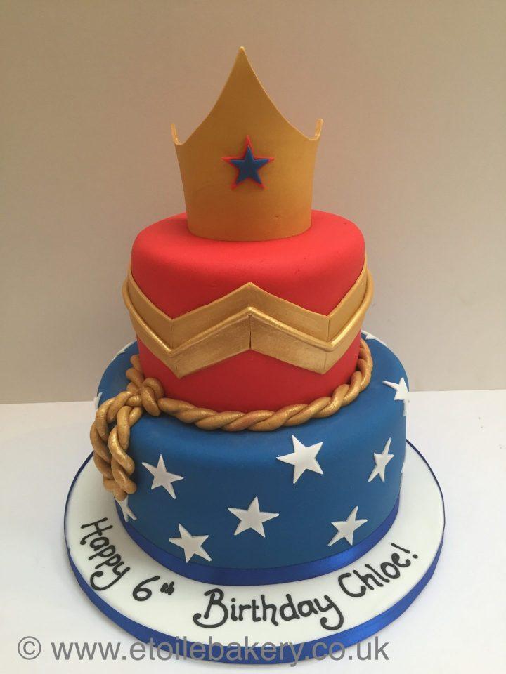 Wonderwoman Cake