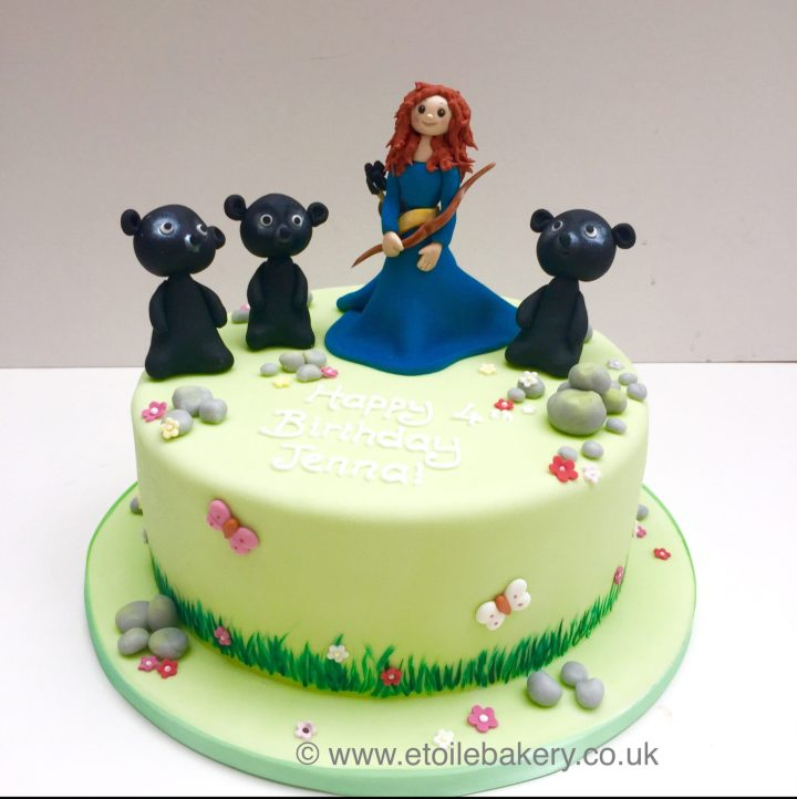 Brave – Merida Cake