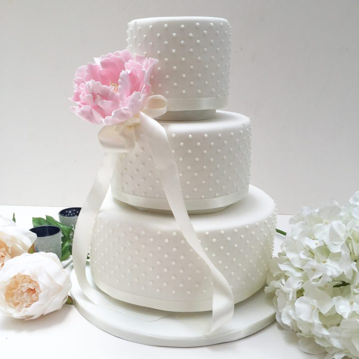 Dotty Wedding Cake