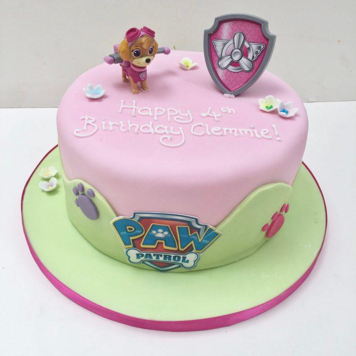 Skye Paw Patrol Birthday Cake – Etoile Bakery