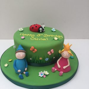 Ben and Holly Birthday Cake