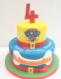 Paw Patrol Cake No Figures