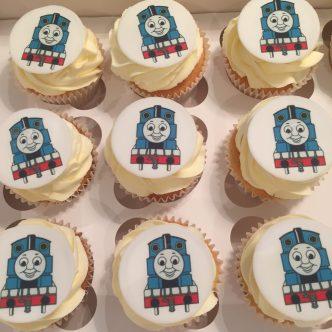 Thomas Cupcakes (printed)