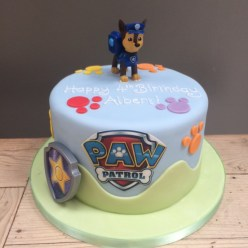 Paw Patrol Cake with Chase