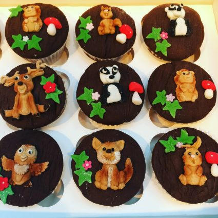 Woodland Animals CupCakes