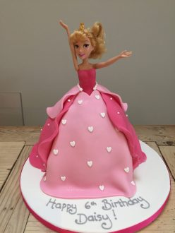 Sleeping Beauty Doll Cake