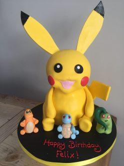 3D Picachu Cake - Pokemon