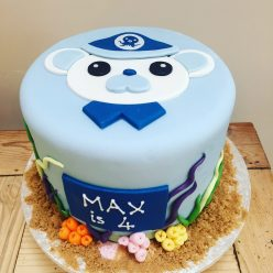 Barnacle Octonauts Cake