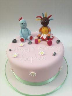 Iggle Piggle and Upsy Daisy Cake