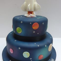 Rocket Launch Space Cake
