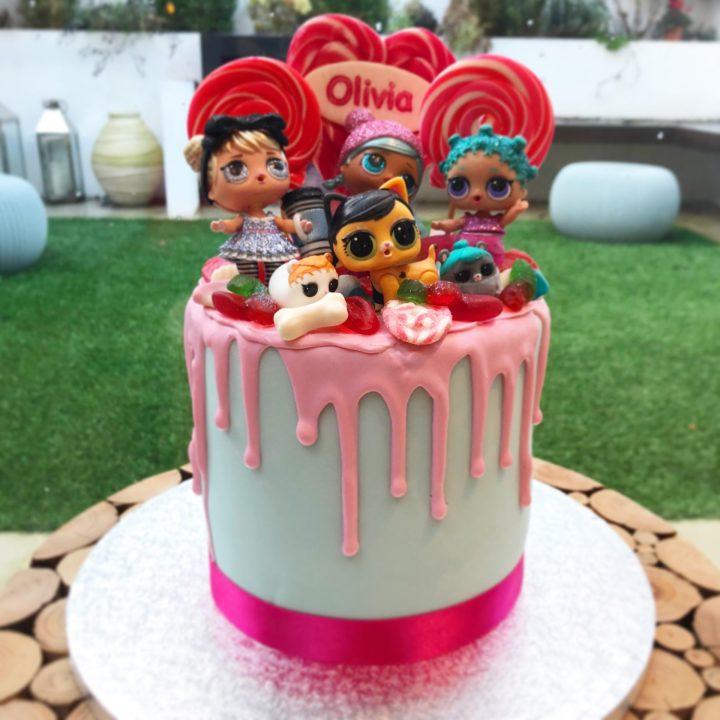 Doll Drip Cake