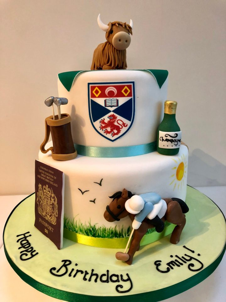 'My Favourite Things' Themed Birthday Cake